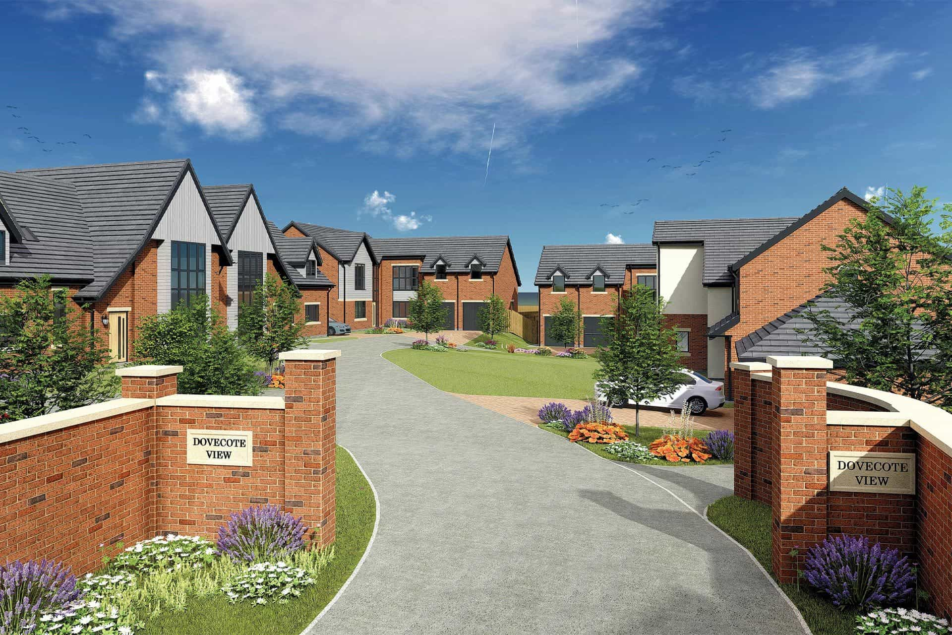 Swan Homes Dovecote View