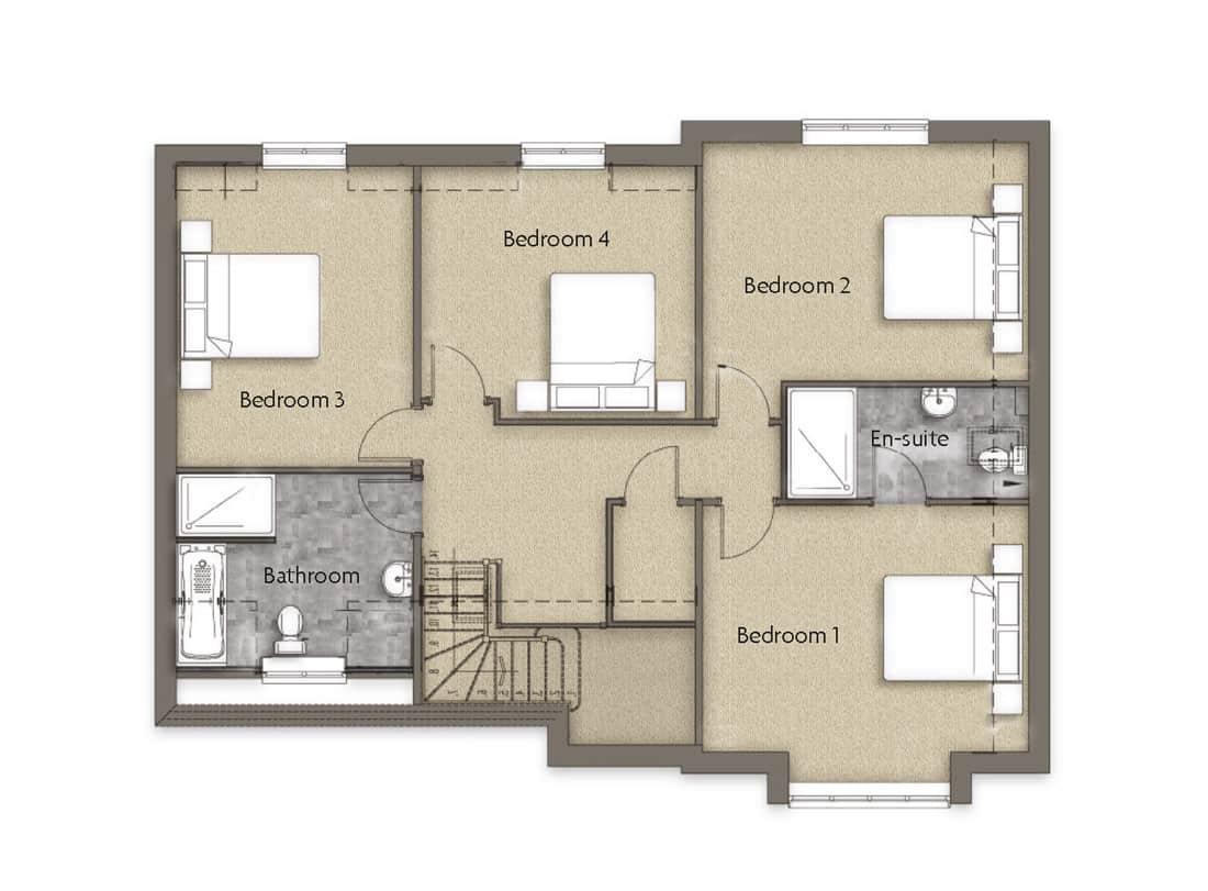 first-floor-Oak-Lea-Woodborough-Dovecote-View-Swan-Homes