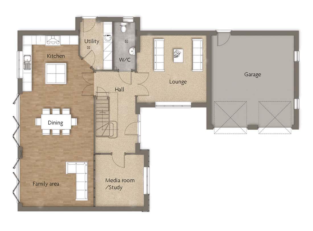 ground-floor-Fairholme-Woodborough-Dovecote-View-Swan-Homes