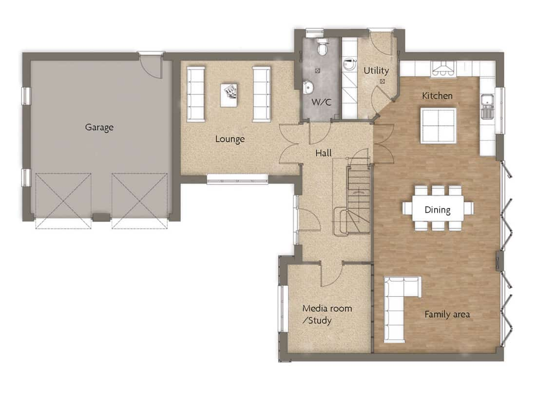 ground-floor-High-Croft-Woodborough-Dovecote-View-Swan-Homes